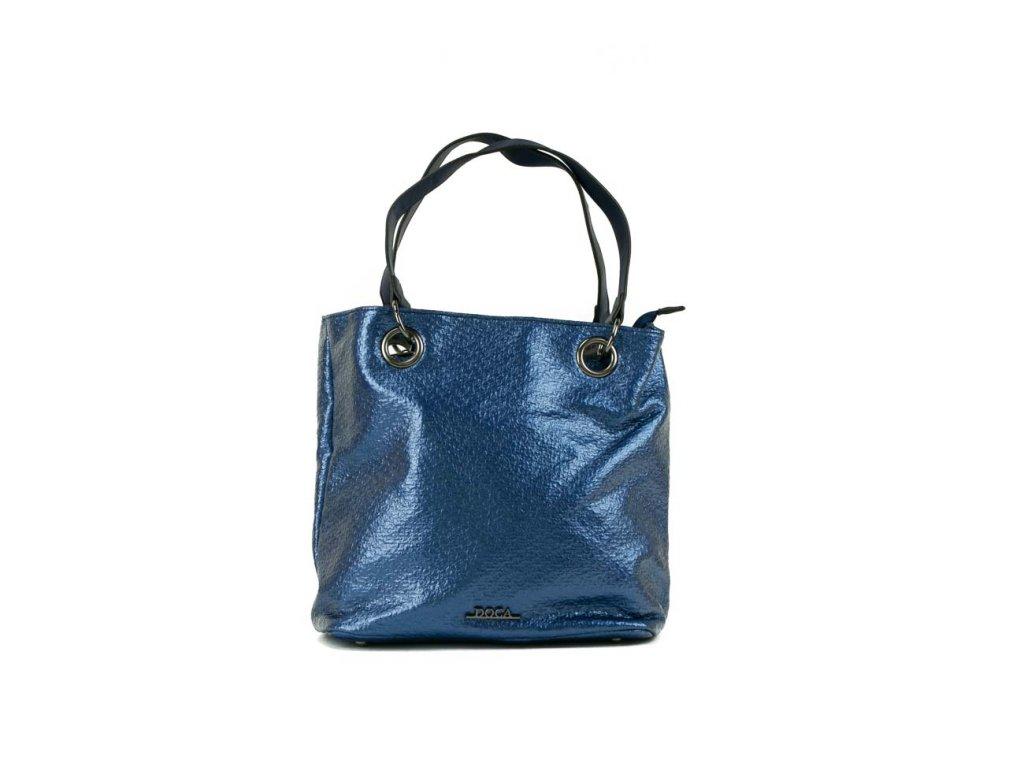 b53225f8dd39 Dámska kabelka DOCA 12692 modrá 1 kabelky.sk