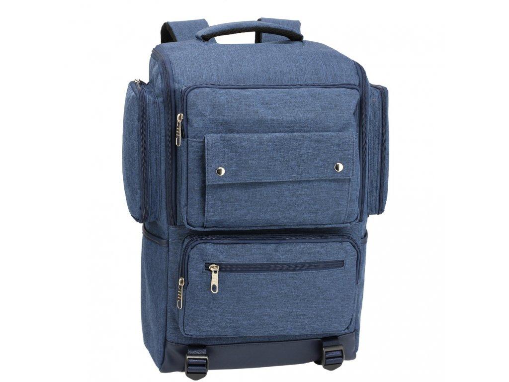 Pánsky ruksak Noah AG00613 1 modrý kabelky.sk
