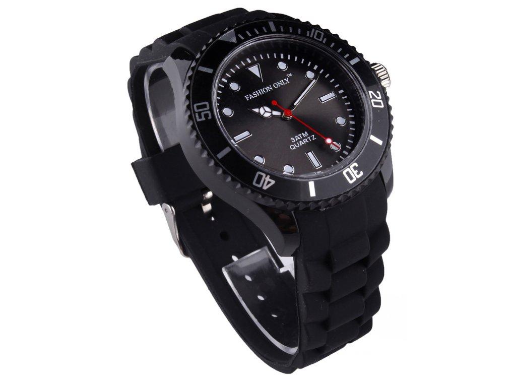 Unisex hodinky fashion only LSW0010 cierne 1 kabelky.sk