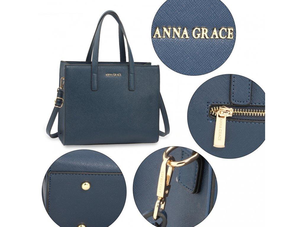 ... Dámska kabelka Lina AG00592 modrá 5 kabelky.sk ... b5d85eaca2d
