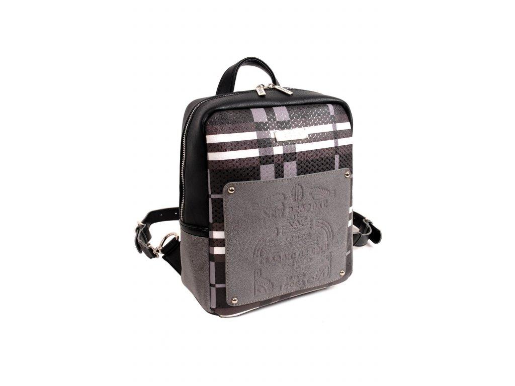 1e3668bd1e Dámsky batoh DOCA 14319 čierny 1 kabelky.sk
