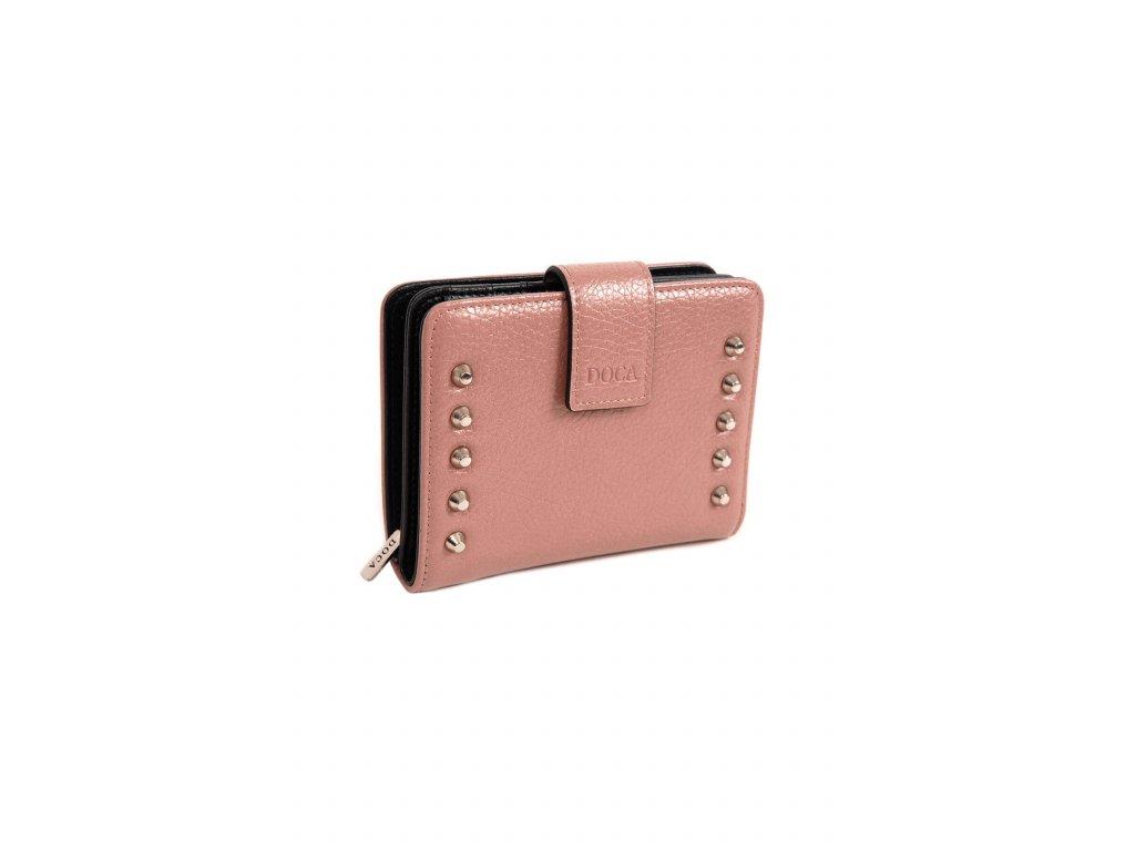 Peňaženka DOCA 65221 ružová 1 kabelky.sk