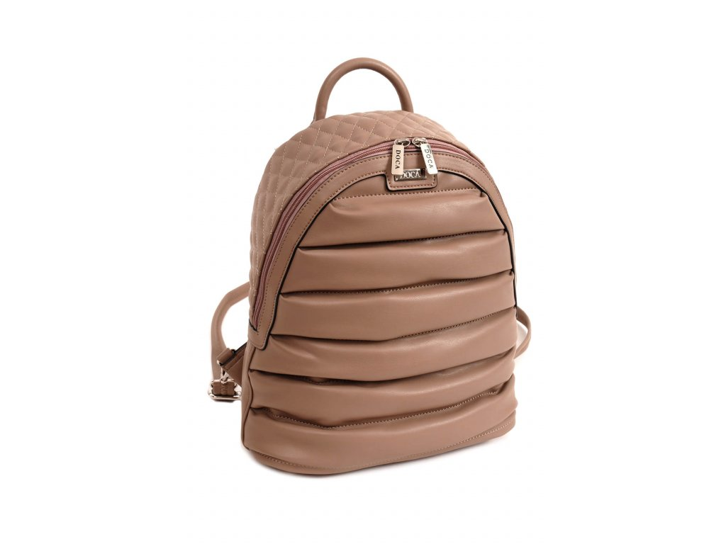 Dámsky batoh DOCA 14352 béžový 1 kabelky.sk
