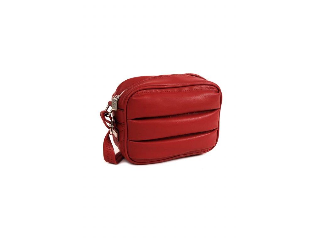 Crossbody kabelka DOCA 14359 červená 1 kabelky.sk