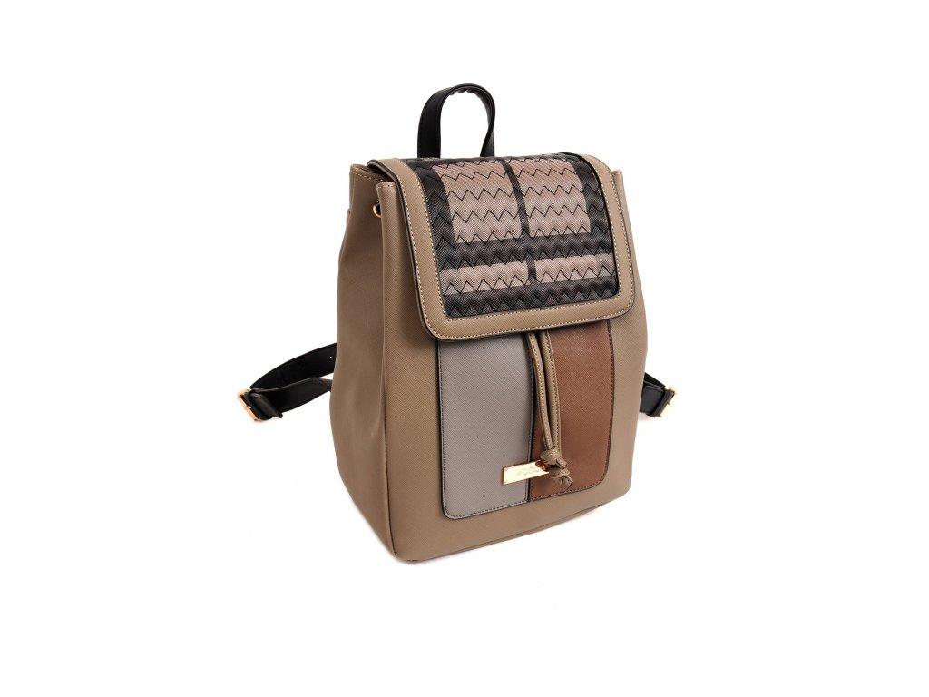 c584c32832157 Dámsky batoh DOCA 14400 - béžový | Kabelky.sk