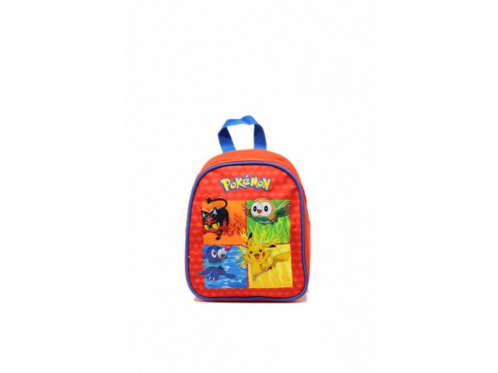 Detský ruksak Pokémon - červený