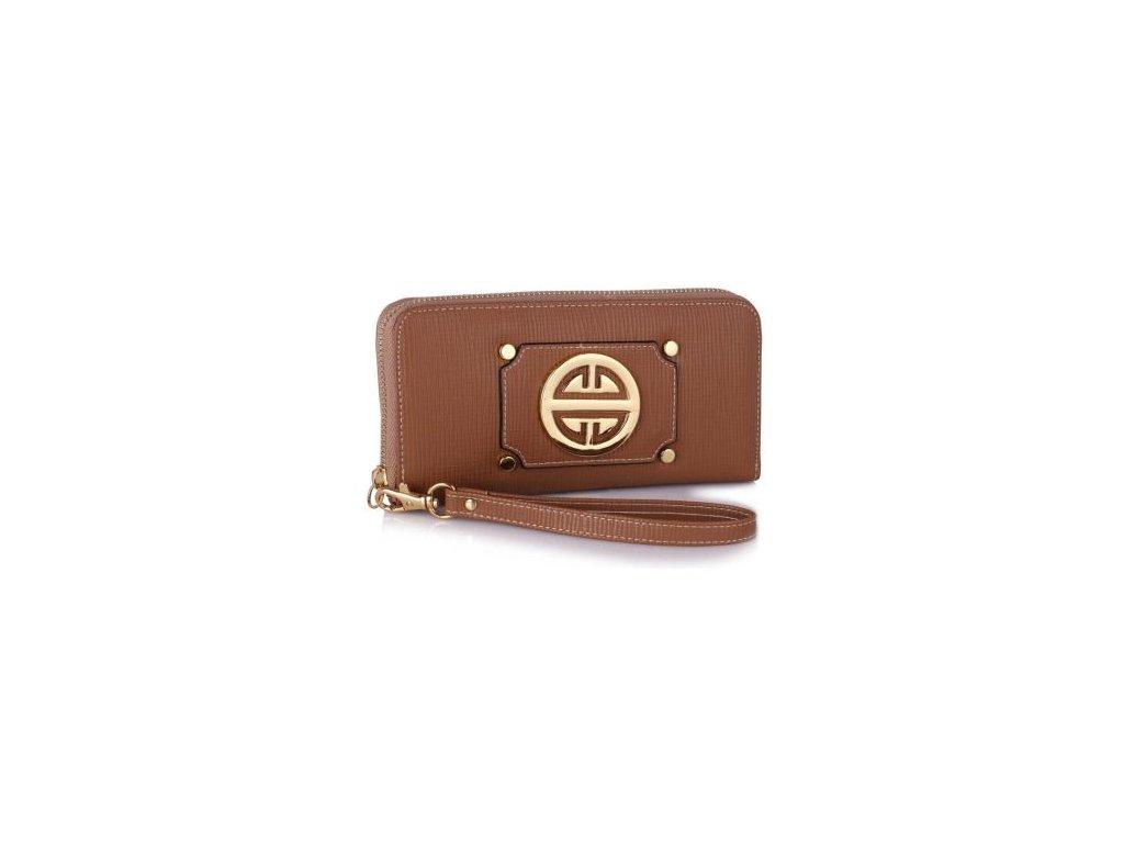 Peňaženka Mint - hnedá