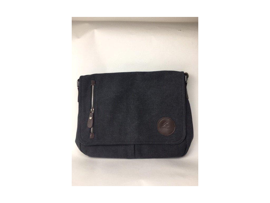 Pánska taška Kally - sivo čierna