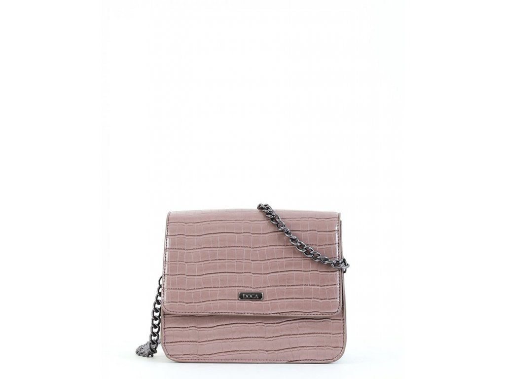 Crossbody kabelka DOCA 15266 - ružová