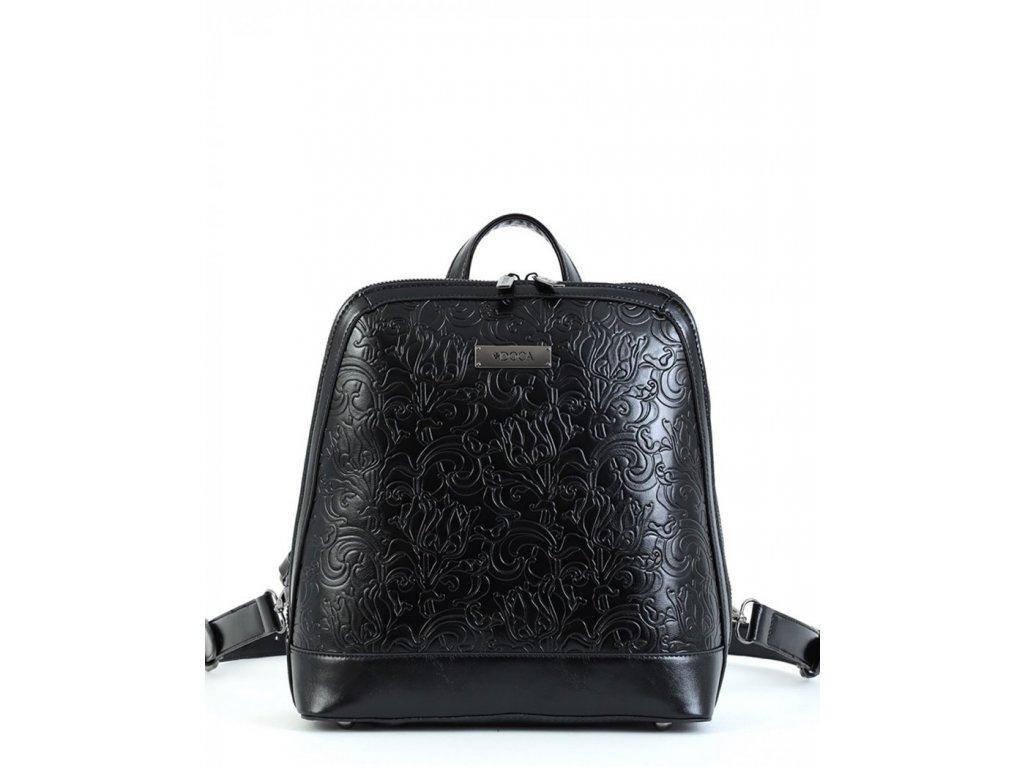 Dámsky ruksak DOCA 15146 - čierny