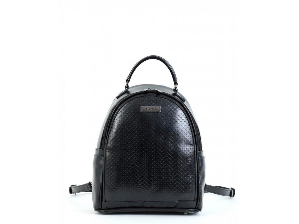 Dámsky ruksak DOCA 15209 - čierny