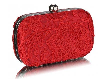 Spoločenská kabelka Classy - červená