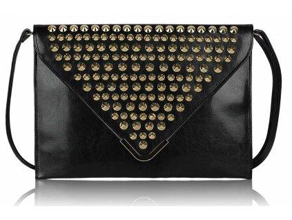 Listová kabelka Slim - čierna