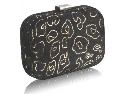Spoločenská kabelka Case - čierna
