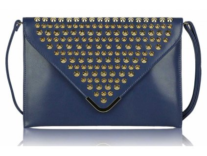 Listová kabelka Slim - námornícka modrá navy