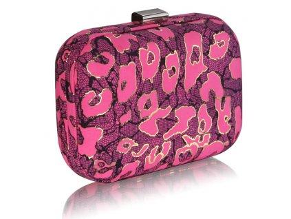 Spoločenská kabelka Case - ružová