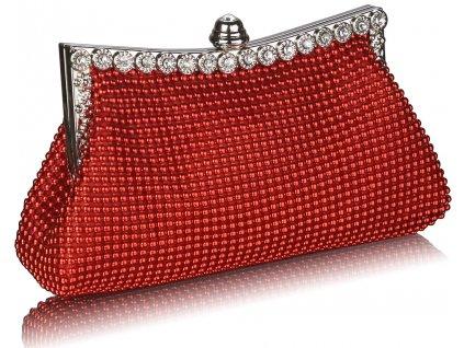 Spoločenská kabelka Spark - červená