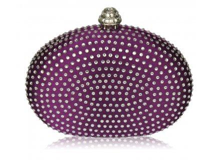 Spoločenská kabelka Hardy - fialová