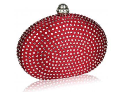 Spoločenská kabelka Hardy - červená