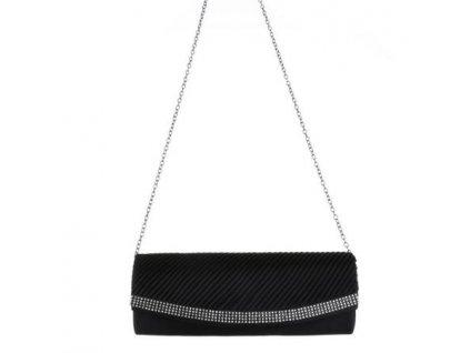 Spoločenská kabelka Corin - čierna