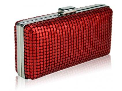 Spoločenská kabelka Lino - červená