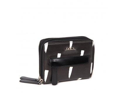 Peňaženka DOCA 64814 - čierna