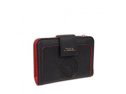 Peňaženka DOCA 64840 - čierna
