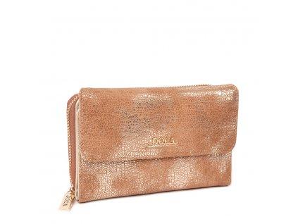 Peňaženka DOCA 64764 - zlatá