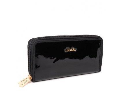 Peňaženka DOCA 64800 - čierna
