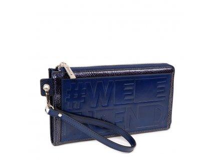 Maxi peňaženka DOCA 64791 - modrá