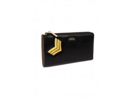 Maxi peňaženka DOCA 64756 - čierna