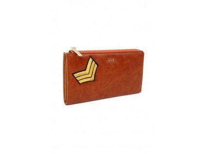 Maxi peňaženka DOCA 64757 - hnedá