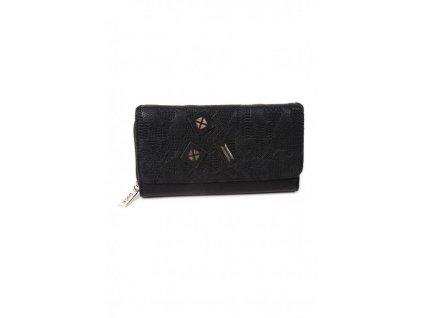 Peňaženka DOCA 64787 - čierna