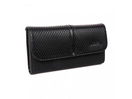 Peňaženka DOCA 64780 - čierna