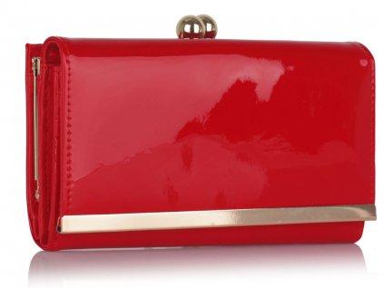 Peňaženka Lucky - červená