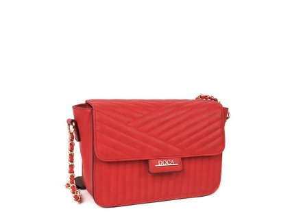 Crossbody kabelka DOCA 12982 - červená
