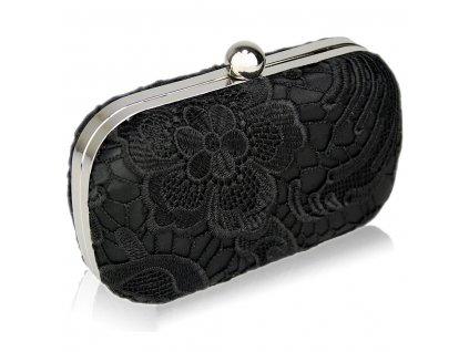 Spoločenská kabelka Classy - čierna