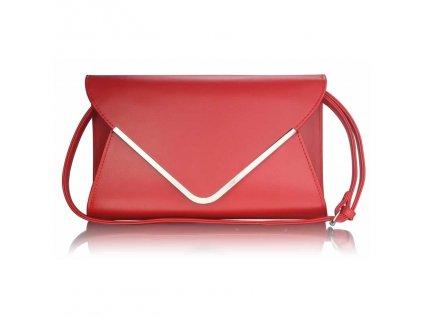 Listová kabelka Flap - červená