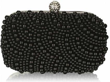 Luxusná kabelka - Pearl - čierna