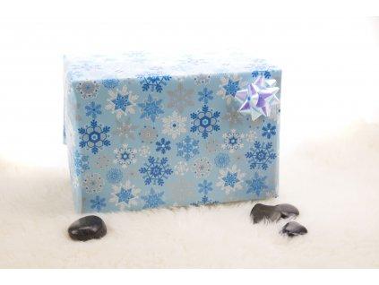 Darčekové balenie - modré