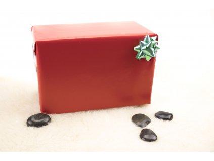 Darčekové balenie - červené