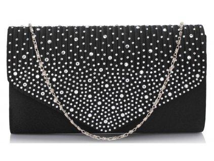 Spoločenská kabelka Nela - čierna