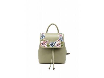 Dámsky ruksak TOM&EVA Pinky 6524 Zeleny 1 kabelky.sk