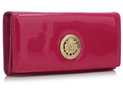 Peňaženka Patent - fuchsia