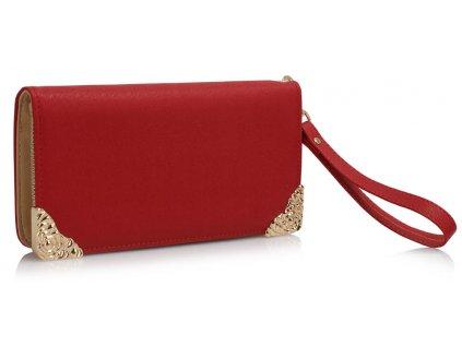 Peňaženka Deco - červená