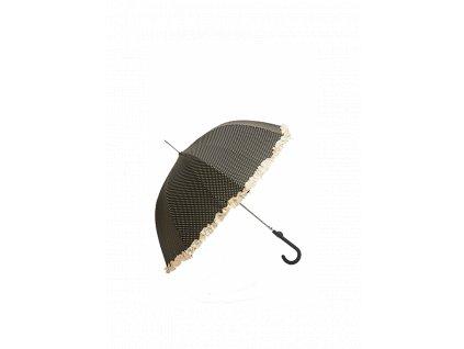 Dámsky dáždnik TOM&EVA SU3480 čierny kabelky.sk