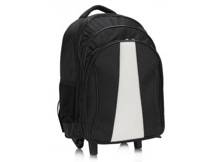 Ruksak traveler - čierno/biely