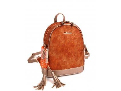 Dámsky ruksak DOCA 13310 - hnedý