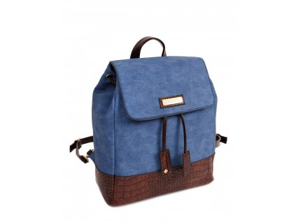 Dámsky ruksak doca 13475 modrý 1 kabelky sk