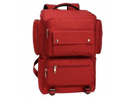 Pánsky ruksak Noah AG00613 1 červený kabelky.sk